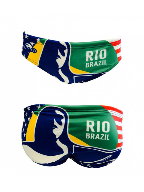 Turbo New Brazil Brief Men Multicolor
